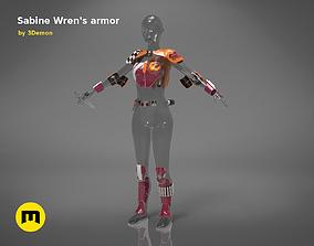 3D printable model Sabine Wrens armor