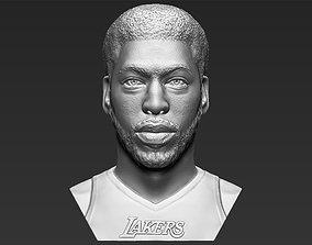 Anthony Davis bust 3D printing ready stl obj formats