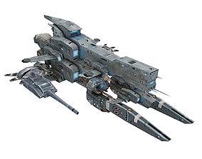 Almighty-Battleship 07 3D