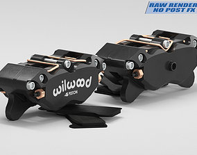 Brake Caliper Wilwood 3D model
