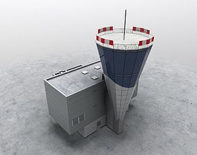 3D model LKKV Control Tower