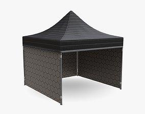 3D model Display tent mockup 05