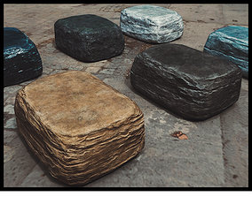 3D asset Stone Pack Collection