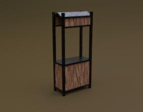 Trade stand 16 R 3D asset