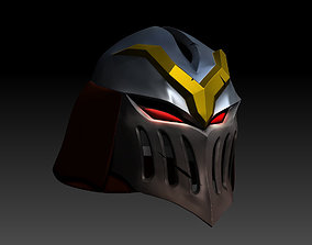 Zed Blood Moon helmet 3D printable model games