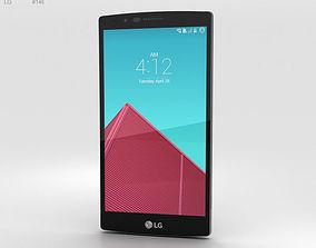 LG G4 Leather Blue 3D model