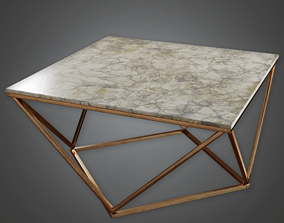 3D asset Modern Table 01 - AV2