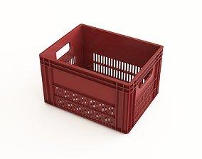 Plastic crate 29 3D model