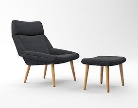3D model Getama Tux Easy Chair