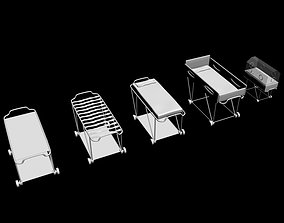 3D interior stretchers collection