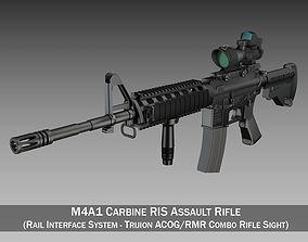 3D Colt M4A1 Sopmod ACOG