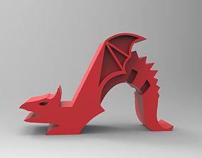 Dragon Phoneholder 3D print model