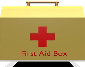 3D asset First Aid Box