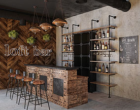 Loft Bar Collection 3 3D