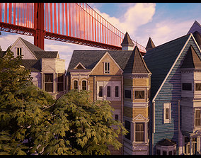 Victorian-Style Building Assets realtime