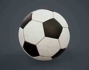 Football Soccer Ball PBR Game Ready 3D asset