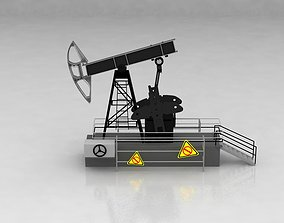 Oil Drilling Rig 3D