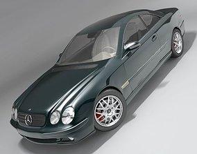 Mercedes CL 2000-2006 3D