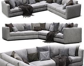 Flexform Sofa Magnum cushion 3D