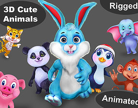 3D model Animal pack v7