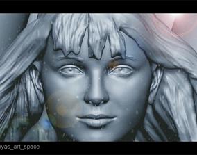 3D print model Melissa Benoist Supergirl Sculpture