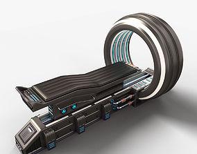 Sci Fi MRI Stylized 3D model