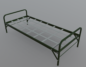 Army Bed 3D asset