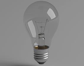 Lightbulb architectural 3D