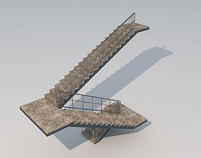 3D model Simple Stair