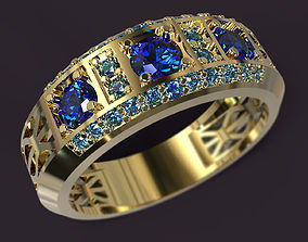 3D print model Ring preciuos