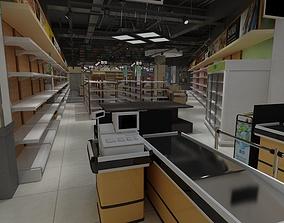 staples Supermarket 3D model