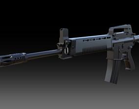 T91 Assault Rifle 3D