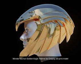 3D Golden Eagle Armor Set for Cosplay