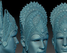 3D printable model Krishna crown