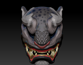 3D print model Mask Jaguar