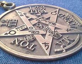 3D printable model Tetragrammaton Medallion