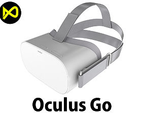 Oculus Go Headset 3D