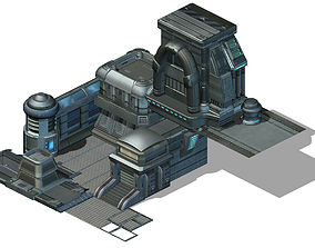 3D Machinery factory - construction