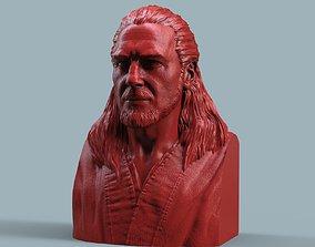 3D printable model gonn Qui-Gon Jinn Bust
