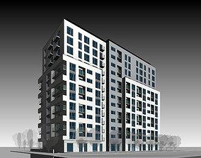3D model Apartment Building architecture