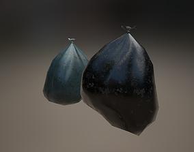 Garbage bag 3D asset unity