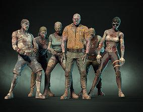 3D asset Zombie Pack