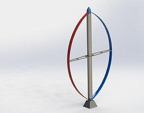 DARRIEUS wind turbine 3D
