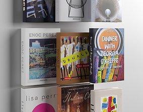 Books 04 3D model