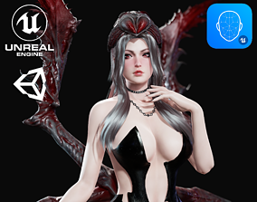 Spider Queen - Game Ready 3D model