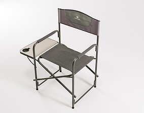 Folding Aluminum Camping Portable Lightweight Chair 3D