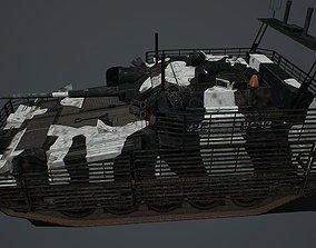 3D model FV 107 Scimitar mk2
