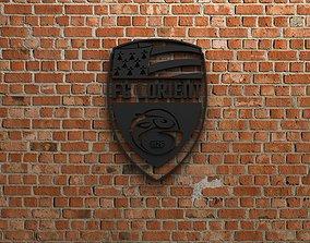 3D print model FC Lorient Logo