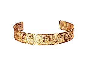 3D print model Thin cuff bracelet