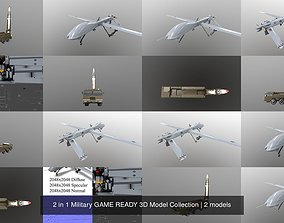 2 in 1 Military GAME READY 3D Model Collection